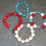 Skull bracelets 2