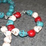 Bracelet & skulls