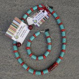 Coral & Turquoise Jewellery