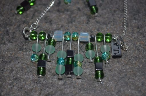 Green Earrings